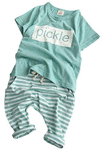 La vouge Kinder T-Shirt Hose Set Rosa Taille 50cm