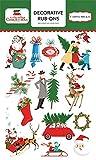 Carta Bella Paper Company a Very Merry Christmas Rub Ons