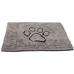 Dog Gone Smart Dirty Dog Doormat, Large, Grey