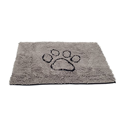 Dog Gone Smart Dirty Dog Doormat, Large, Grey - Dirty Dog Door Mat