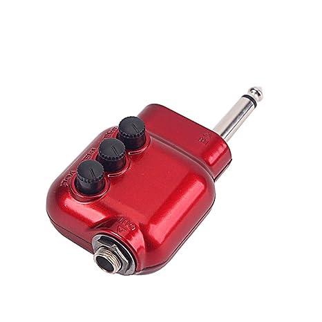 SUPVOX preamplificador prime durable rojo 6.35mm enchufe partes de ...