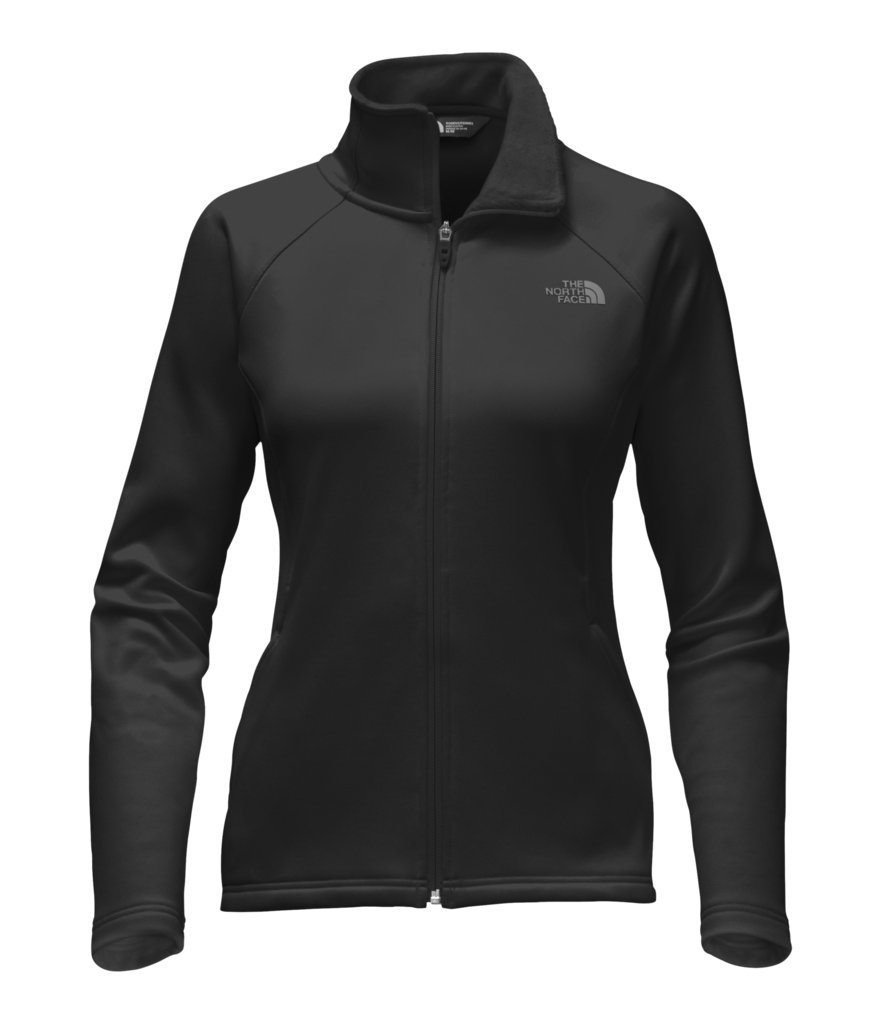 The North Face Women's Agave Full Zip Fleece Jacket - TNF Black - L (Past Season)