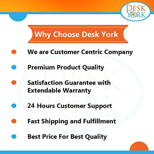 Desk York Vented Laptop Stand - in Bed,Couch,Sofa or Recliner-Great Birthday Gift for Friends Men Women Student-Book Reading-Foldable Computer Stand for Office-Lap Tray- Basic Black by Desk York (Image #7)