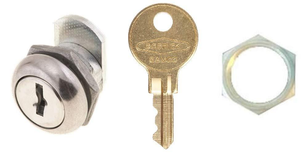 Bobrick 288-122 Toilet Tissue Dispenser Replacement Lock & Key