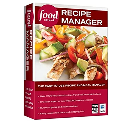 Amazon food network recipe manager food network recipe manager forumfinder Choice Image