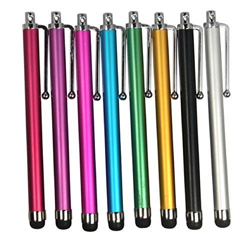 Lookatool Lot 8 Stylus Touch Pen for ipod IPhone 3G 3GS 4G Ipad 2, All iPad series (iPad / iPad 2), All iPhone serious (2G/3G/3GS/4G/CDMA), All iPod Touch serious