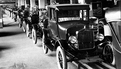 8 x 10 Photo Assembly Line Model T Ford