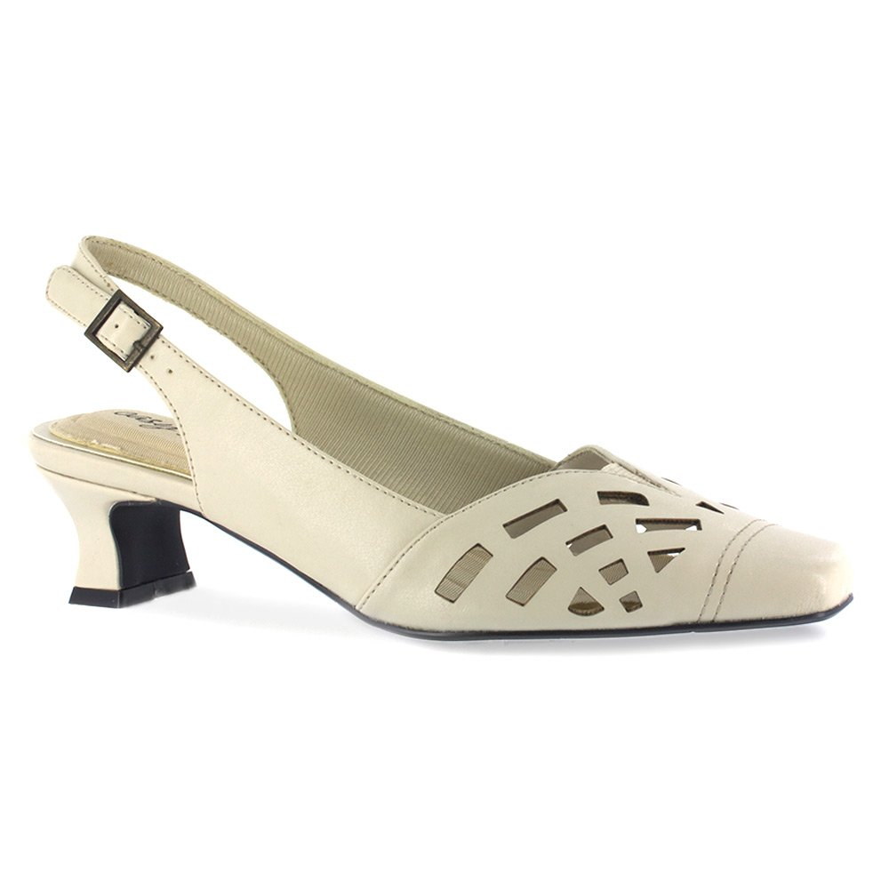 Retro Vintage Style Wide Shoes Easy Street Womens Adorable Slingback Pump $29.99 AT vintagedancer.com