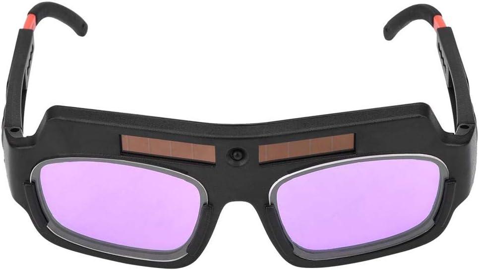 FTVOGUE Gafas Para Soldar Protección Contra El Oscurecimiento Automático Solar Gafas Protectoras Para La Soldadura Al Arco de Argón Con Pantalla de Atenuación Automática