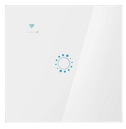 Houkiper Smart WiFi Switch,Double Control UK Standard Wall