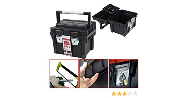 Plástico Caja De Herramientas para HD BOX COMPACT, 44 x 35 cm caja ...