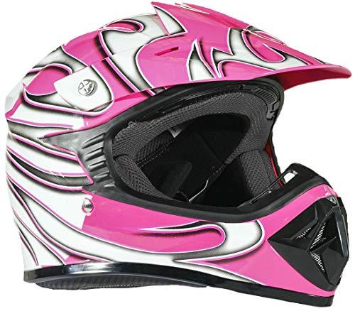 et Off Road ATV Motorcycle MX Kids Motocross - Pink - Medium ()