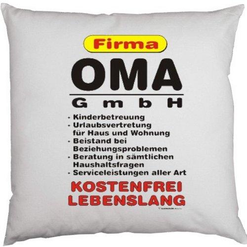 Cooles Deko-/Sofakissen: Firma OMA GmbH... ...Geschenktip!! Größe ca.40x40cm;