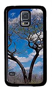 galaxy s5 case,custom samsung galaxy s5 case,TPU Material¡ê?Drop Protection¡ê?Shock Absorbent,Tree under a blue sky