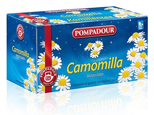 7 opinioni per Pompadour- Camomilla Setacciata Per Infuso- 18 Bustine de 1,7 gr