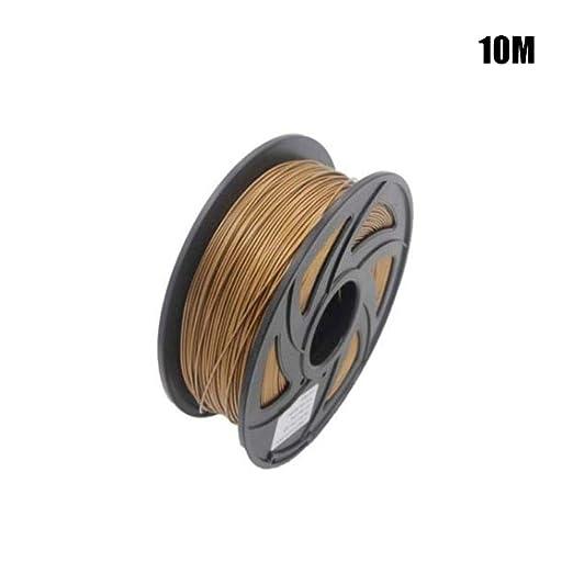 Womdee Filamento para Impresora 3D PLA, 10 m, filamento PLA de 1 ...