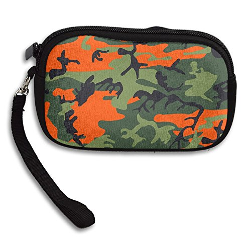 Printing Bag Receiving Purse Small Cool Camouflage Portable Orange Deluxe x4qwntASZ