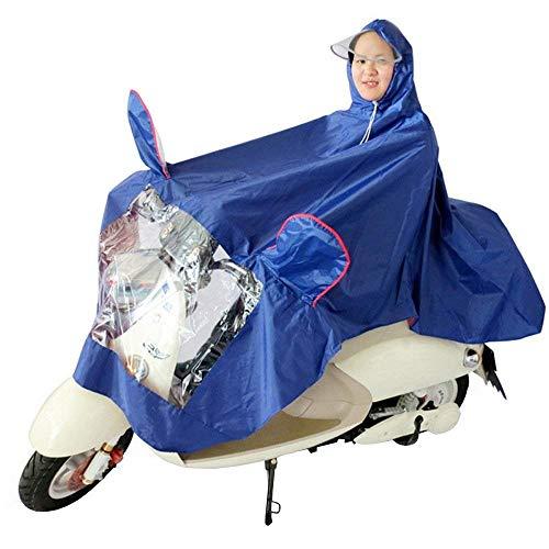 Dame À Pluie La Voiture Électrique L'eau Des De Femmes Imperméable Mode Capuche Moto Blau Casual g8waqnd