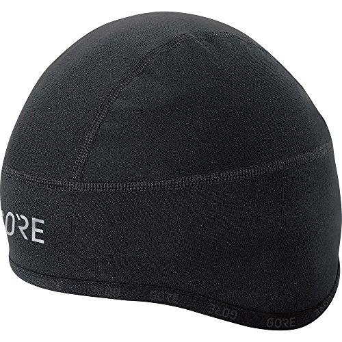 Cap Gore (GORE WEAR Men's Windproof Cycling Beanie, C3 Windstopper Helmet Cap, Size: M, Color: Black, 100398)