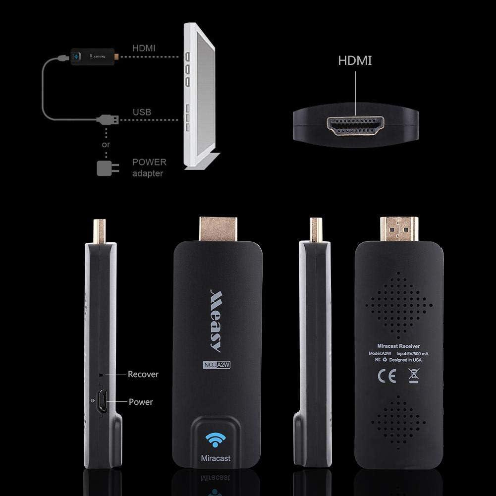8.1 Zerone MEASY A2W Miracast Dongle HIMI Display R/écepteur WiFi TV Dongle sans Fil pour Android OS iOS Fen/être XP 7//8