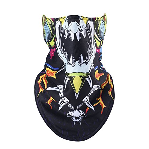 Womens Supreme Element Costumes (Besplore Skull Outdoor Face Mask,Multifunctional Seamless Headwear Ski Motorcycle Snowboard Cycling Hiking Perfect Halloween Mask1770)