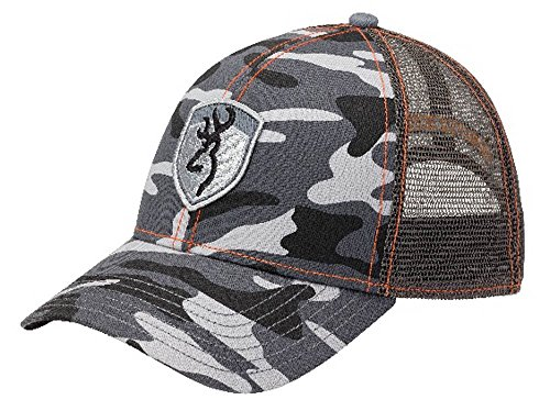 Browning Stealth Camo Cap- Gray