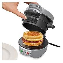 New Hamilton Beach Breakfast Gourmet Sandwich Maker Kitchen Electric ITEM_STOR#bestvaluesellers GHDTA97323100451