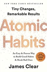 The instant New York Times bestseller. Over 1 million copies sold!Tiny Changes, Remarkable ResultsNo matter your goals, Atomic Habits offers a proven framework for improving--every day. James Clear, one of the world's leading experts on habit...