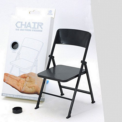 "SHALLEN 1/6 Scale Action Figure Folding Chair 7"" for Hot Toys the Ultimate Soldier BBI"