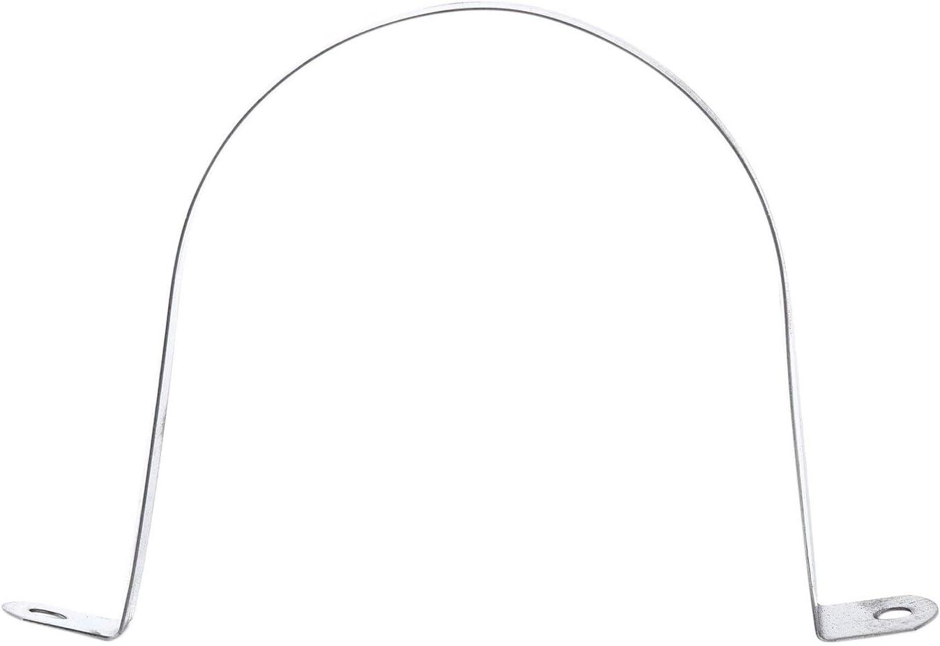 ACAMPTAR Lot de 4 colliers de serrage rigides pour tube de 100 mm de diam/ètre