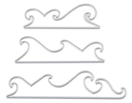 Party Ribbon framed Metal Cutting Dies For Scrapbooking Card Craft DecorFE YF