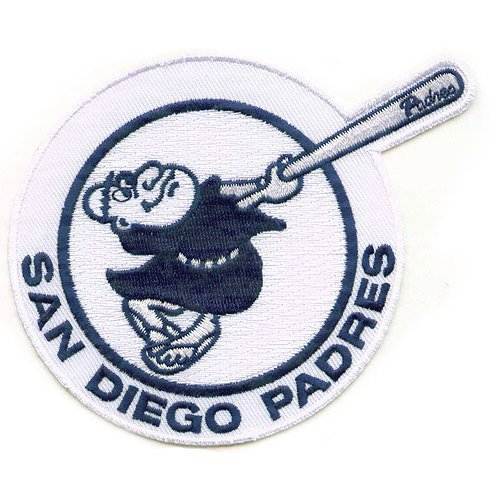 San Diego Padres 2012 Home Jersey Sleeve Patch by Patch Collection (Padres Cycling Jersey compare prices)