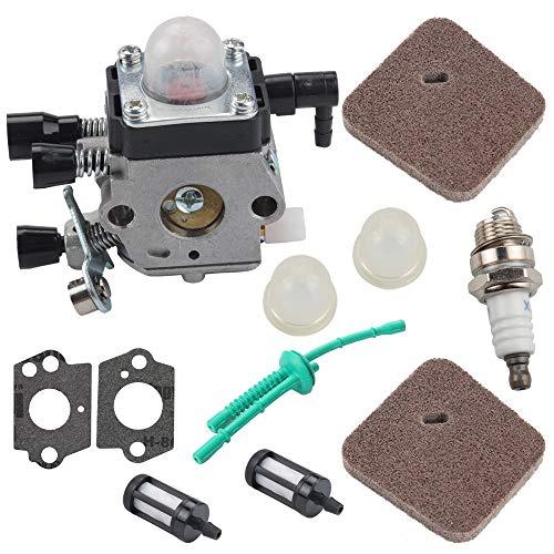 Butom FS45 FS38 Carburetor for Stihl FS46 FS55 KM55 HL45 FS45C FS46C FS55C FS55R FS55RC Weed Eater Trimmer