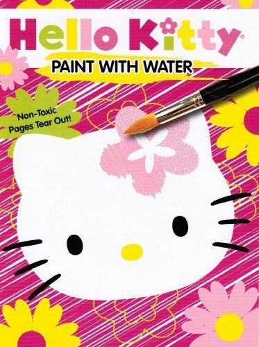Hello Kitty Paint with Water Book