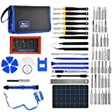 Kaisi 67 in 1 Precision Screwdriver Set with Magnetic Driver Kit, Professional Electronics Repair Tools Kit with Portable Bag for Repair Cell Phone, iPad, iPod, MacBook, Laptops, Computer and More