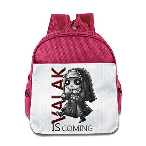 Jade Custom Personalized The Conjuring 2 Valak Cartoon Cute Kids School Backpack For 1-6 Years Old Pink - Old Samsung Microwave