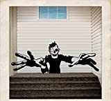 "SCARY MONSTER ~ HALLOWEEN: WALL OR WINDOW DECAL, 13"" X 34"""