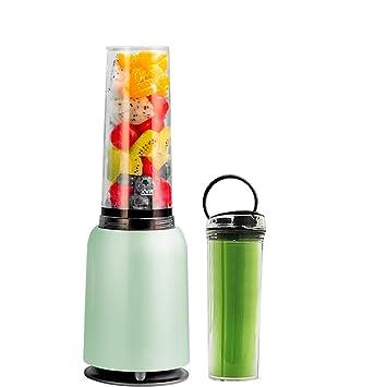 Dwertay Maravilloso Material Seguro Fácil de Limpiar Exprimidor de Frutas y Verduras, Exprimidor automático portátil Ligero para el hogar, Gran pequeño ...