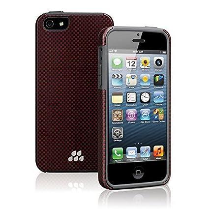 EVUTEC Karbon SP Case For Apple IPhone 5 5s In Kozane Red Black