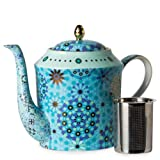 T2 Pimp My EMERALD - Fine Bone China TeaPot - 33.81oz