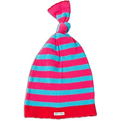Izzy and Owie Flamingo Striped Baby Hat, Pink, 0-24 Months: Toys & Games