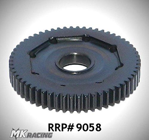 RRP9058 Robinson Racing Products Mini .5Mod Blackened Hard STL Spur 58T; Losi 8ight