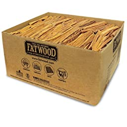 Fatwood Firestarter 9951 1.25 Cubic Feet Fatwood for Fireplace in Bulk Box, 50-Pound