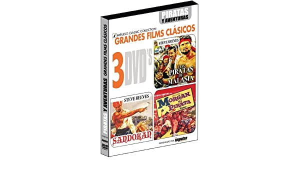 Amazon.com: morgan il pirata / morgan el pirata (3 dvd) box set dvd Italian Import: steve reeves, valerie lagrange, primo zeglio: Movies & TV