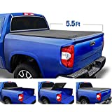 Tyger Auto T3 Tri-Fold Truck Bed Tonneau Cover TG-BC3T1032 Works with 2007-2013 Toyota Tundra | Fleetside 5.5' Bed | for Models with or Without The Deckrail System