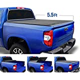 Tyger Auto T3 Soft Tri-Fold Truck Bed Tonneau Cover for 2014-2020 Toyota Tundra Fleetside 5.5' Bed TG-BC3T1432