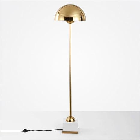 cwill lámpara de pie Europea Creativa de metal Dorado para ...