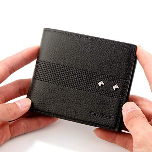 19c444a3814c Men's Wallet,PAQOZ Fashion Short Wallet Retro Color Multi-Card ...