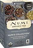 Numi Organic Tea Variety Pack - Numi's Collection - Assorted Full Leaf Tea and Teasan Teabags, 18-Count non-GMO Tea Bags (Pack of 6)