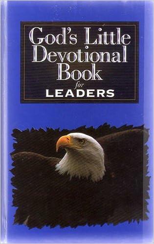 Gods Little Devotional Book For Leaders